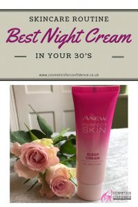 Best Night Cream for your 30's