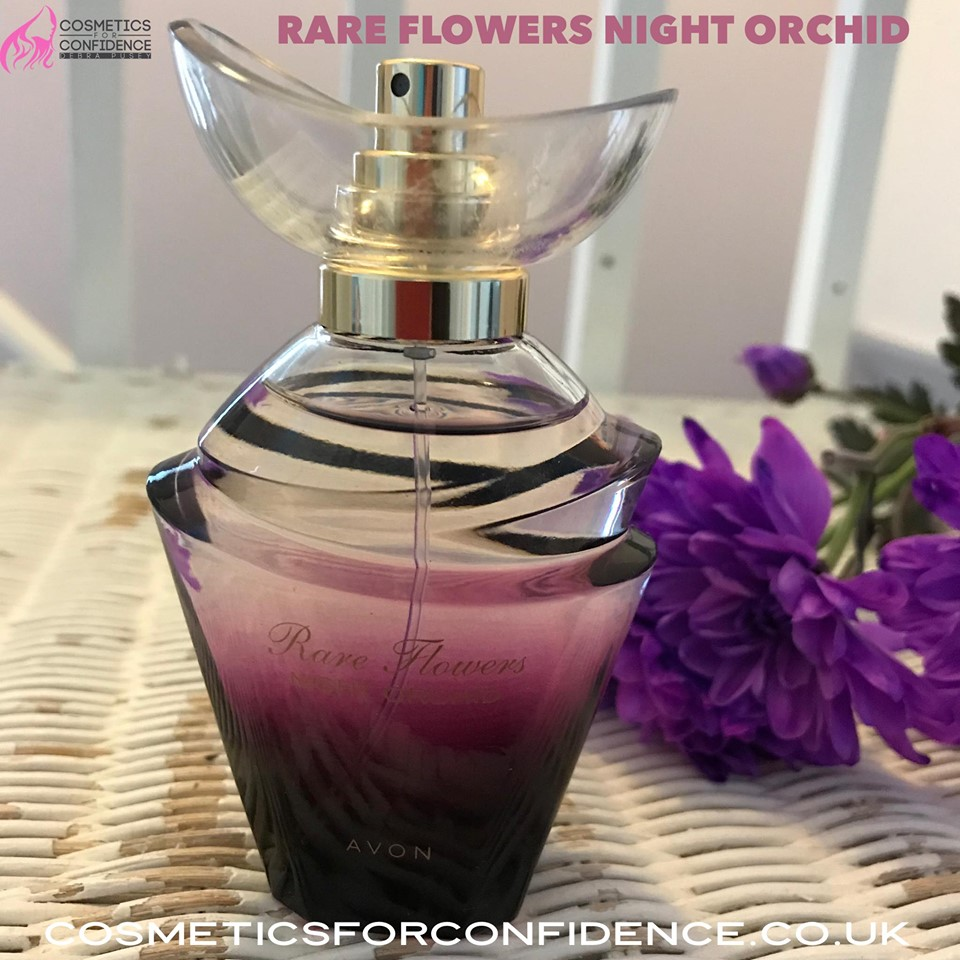 New perfume, Avon campaign 9 - rare flowers night orchid